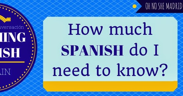 How Say How Much Spanish