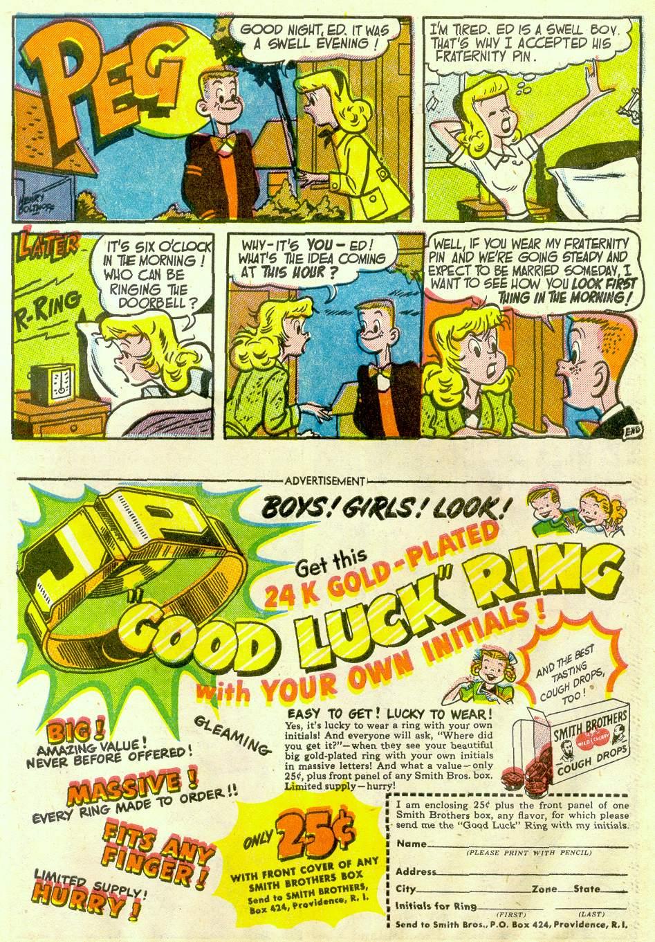 Read online Detective Comics (1937) comic -  Issue #181 - 33