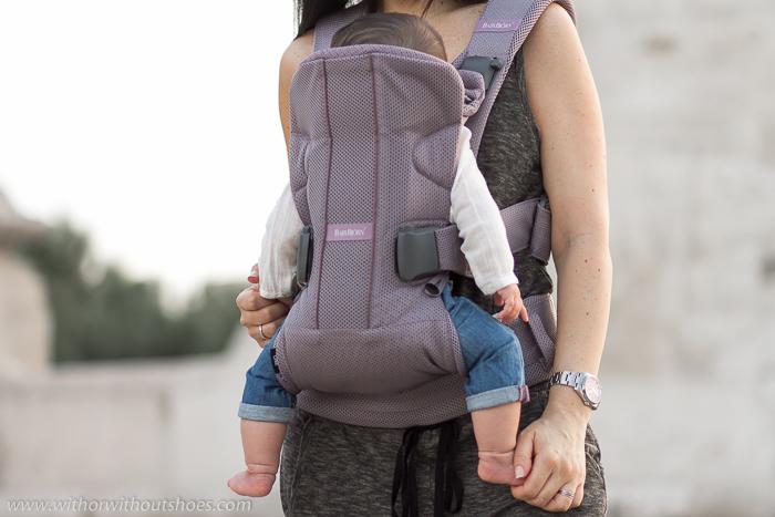 mejor mochila porteo bebe segura y comoda