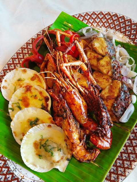 Special Seafood Platter- Platter Makanan Laut
