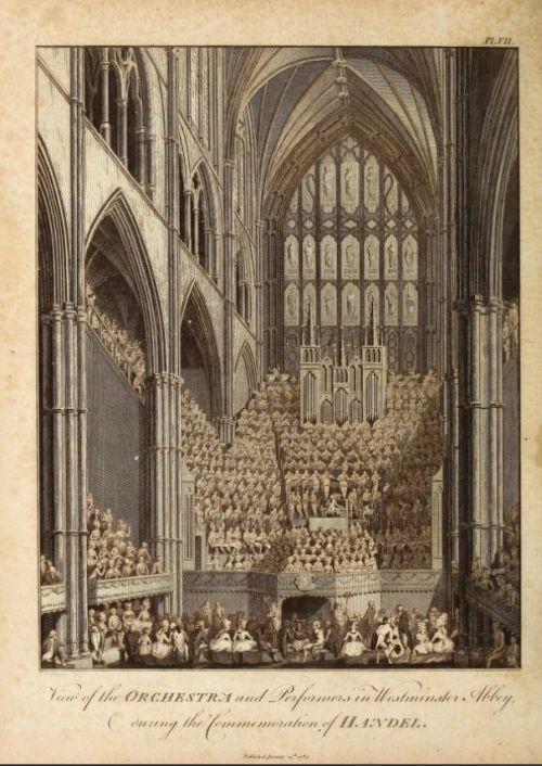orchestre Handel Commemoration Concert