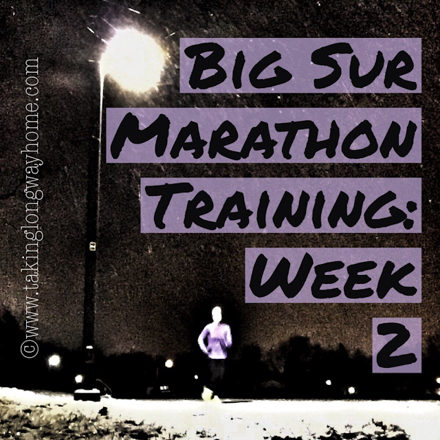 Big Sur Marathon Training Week 2