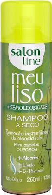Shampoo a seco Meu Liso #semioleosiade – 200ml