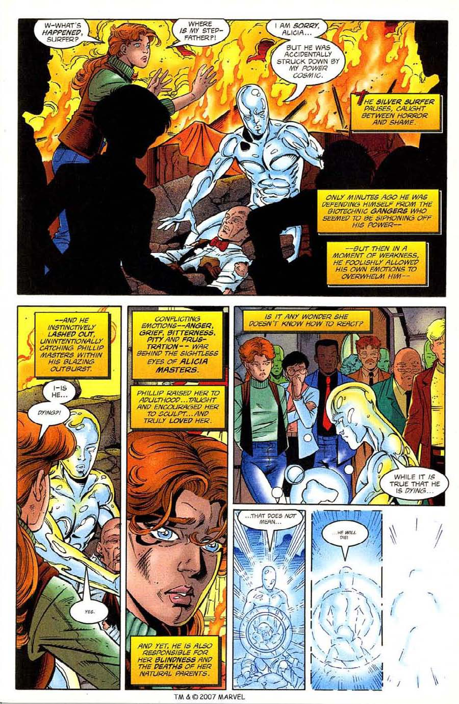 Read online Silver Surfer (1987) comic -  Issue #133 - 7