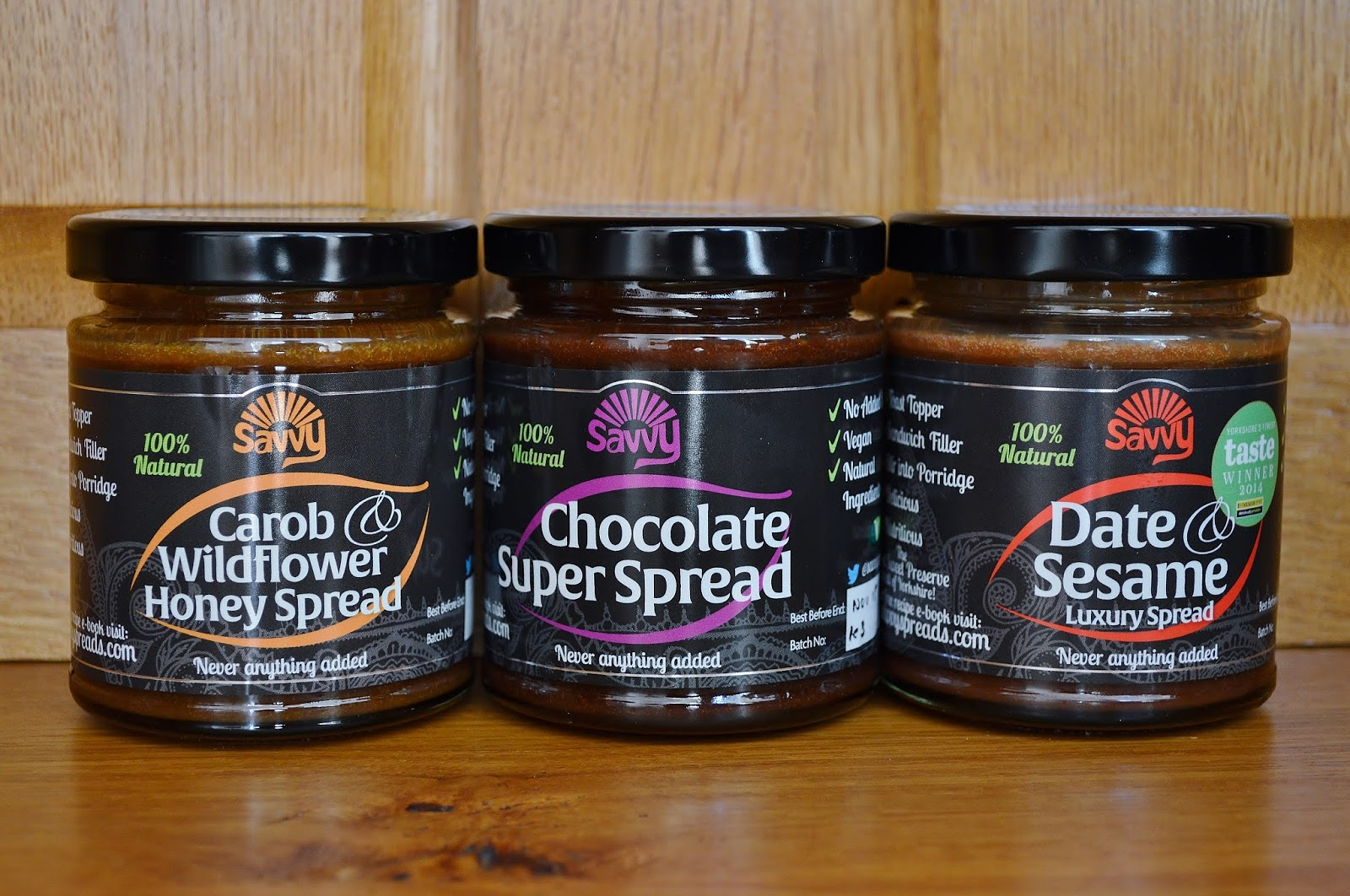 Jars of Savvy Spreads