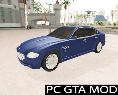 Free Download Maserati Quattroporte Mod for GTA San Andreas