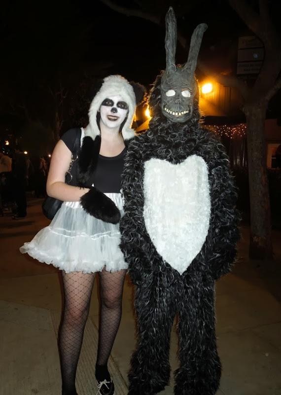 Donnie Darko Frank Bunny costume West Hollywood Halloween
