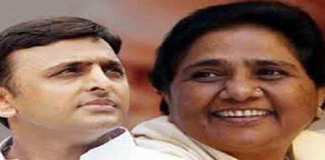 2019 में उत्तर प्रदेश की 80 सीटों पर सपा-बसपा के मिल कर चुनाव लडऩे पर सहमति बनने के बाद