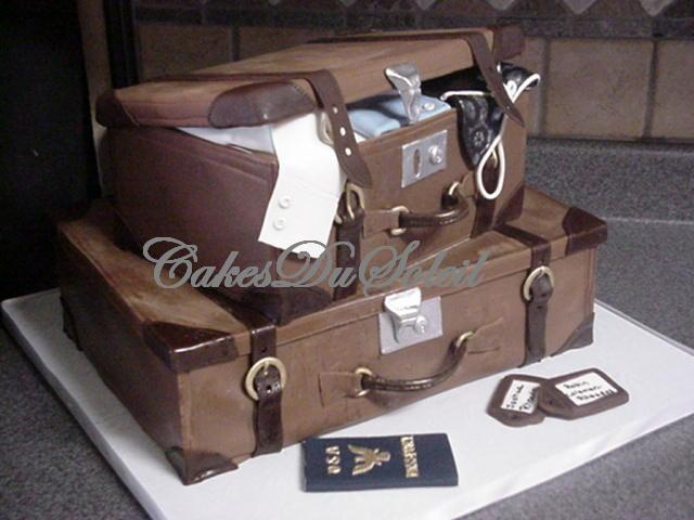 How To Make Suitcase Birthday Cake