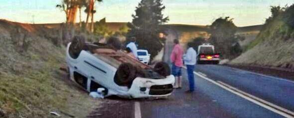 Manoel Ribas: Família se envolve em acidente na PR-466