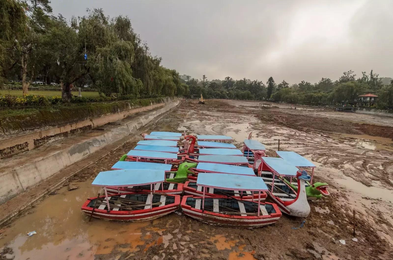 Muddy Bottom The Dredging of Burnham Lake 2013 Baguio City Cordillera Administrative Region Philippines