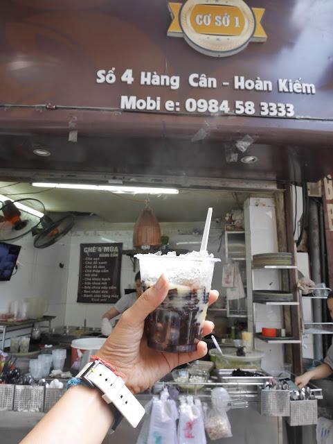 Delicious healthy Vietnamese dessert
