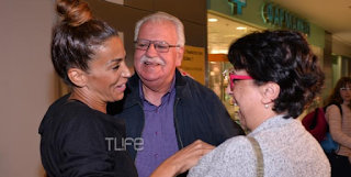 Ελένη Xατζίδου: Επέστρεψε στην Ελλάδα – Οι γονείς την υποδέχτηκαν στο αεροδρόμιο