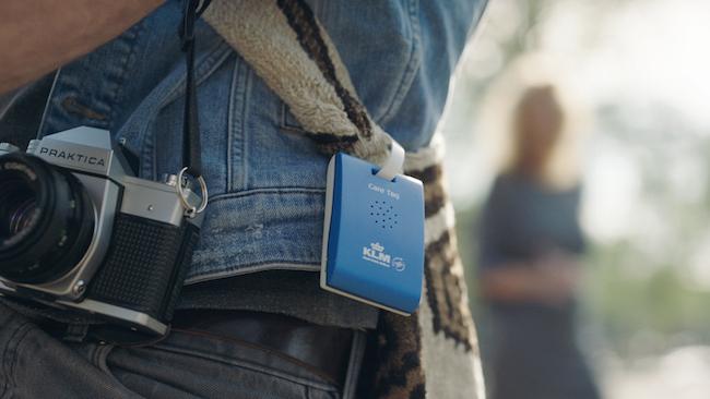 KLM desenvolve tag de bagagem inteligente com dicas de Amsterdã para viajantes