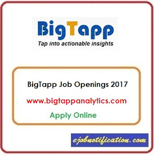 BigTapp Hiring Big Data Developer jobs in Chennai Apply Online