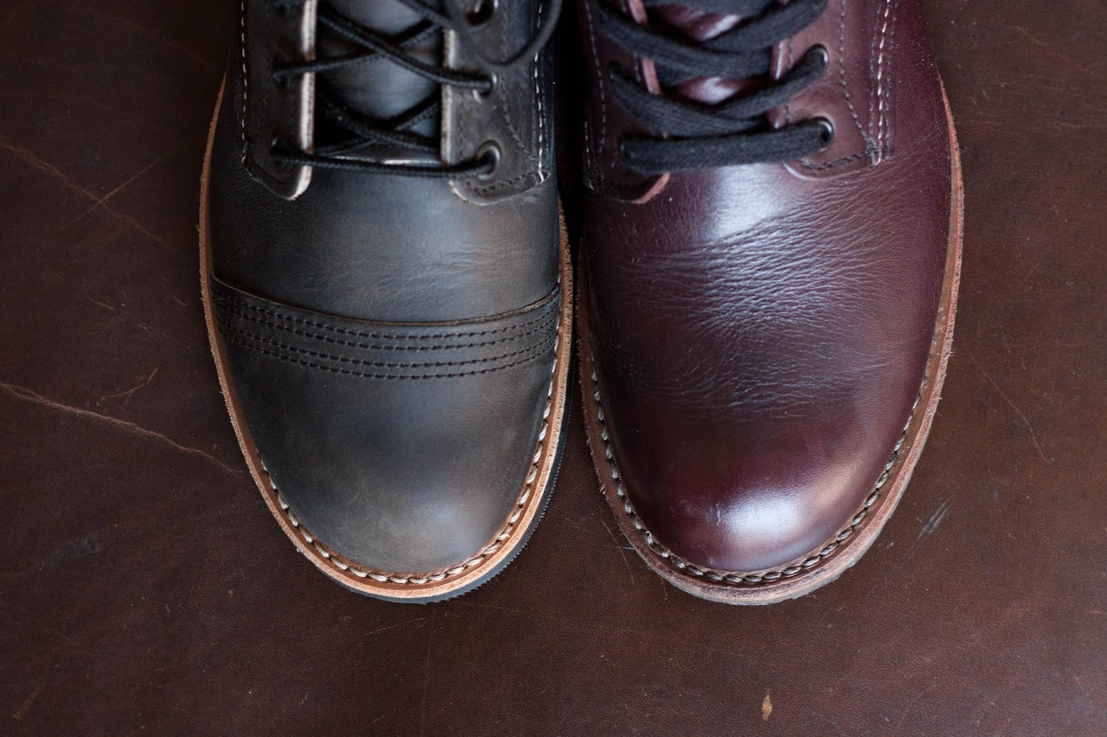 Workwear 101 First Impressions Red Wing Iron Ranger 8086