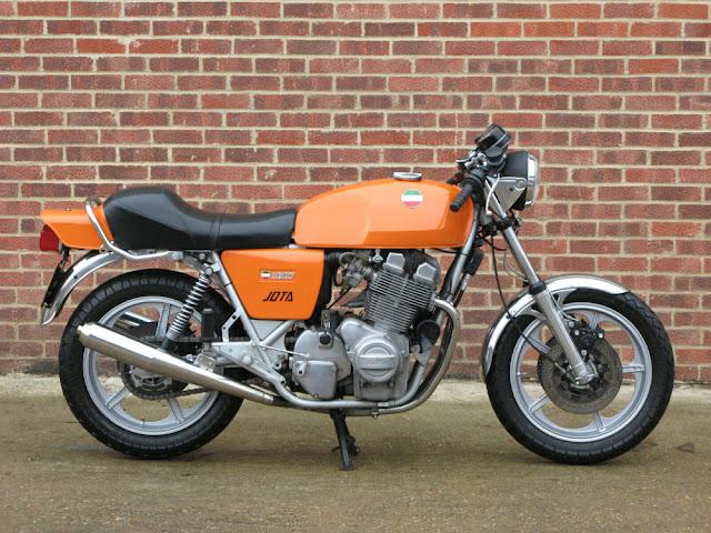Laverda Jota 1970s Italian classic sports motorbike