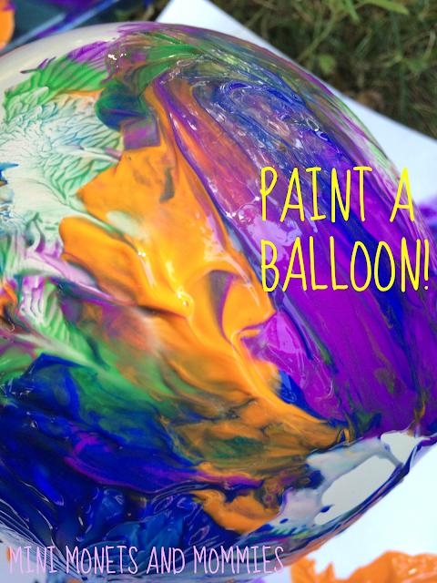 Art paint splatter
