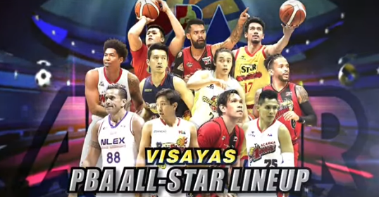 List of 2017 PBA All-Star Lineup Visayas/Cebu Leg