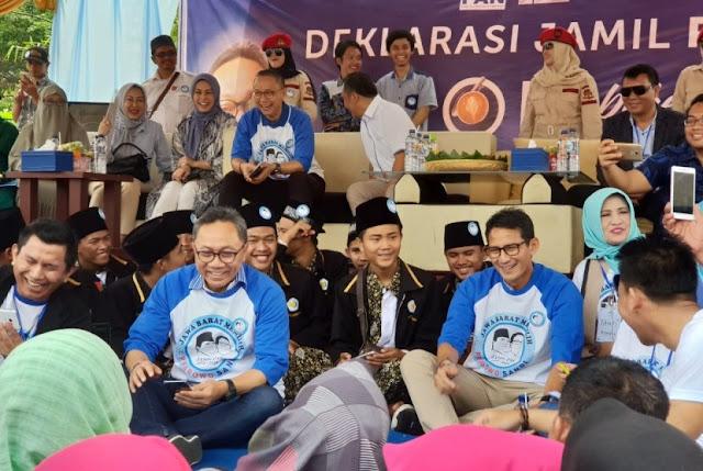 Warga Sumedang Deklarasi Dukung Prabowo - Sandi