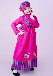 Baju lebaran anak trendy