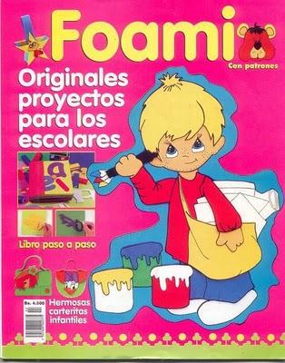 revista Foami -Proyectos Escolares
