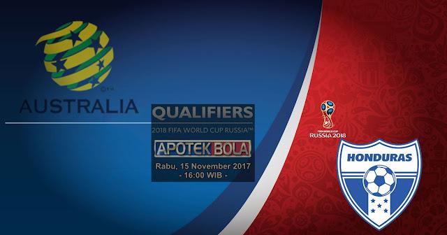 Agen Bola Terpercaya - Prediksi Australia vs Honduras 15 November 2017