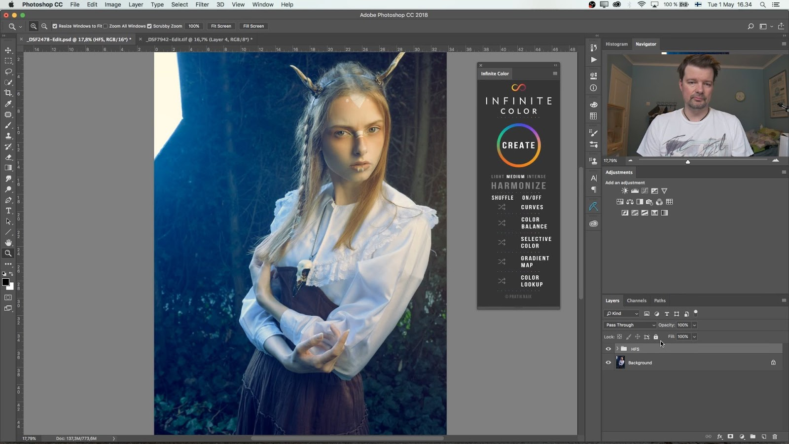 REVIEW of a New Tool for Retouchers: Pratik Naik's INFINITE