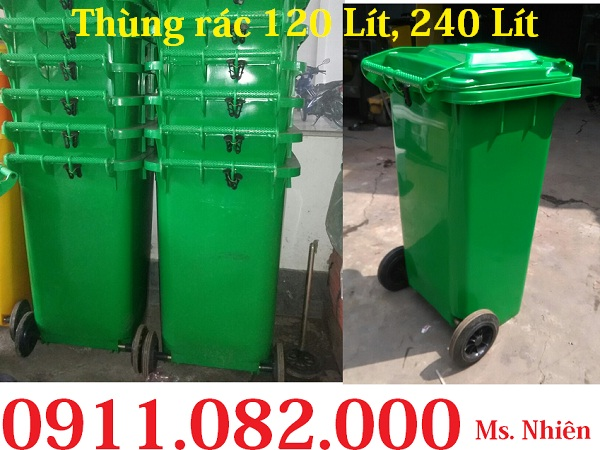 Thùng rác giá rẻ, thùng rác y tế, thùng rác 120L 240L giá sỉ lẻ- 0911082000 - 224895