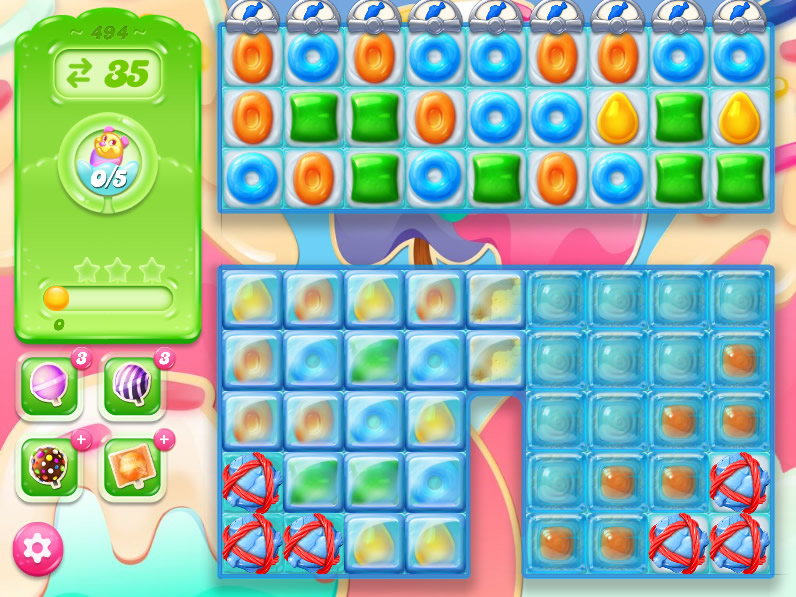 Candy Crush Jelly Saga 494