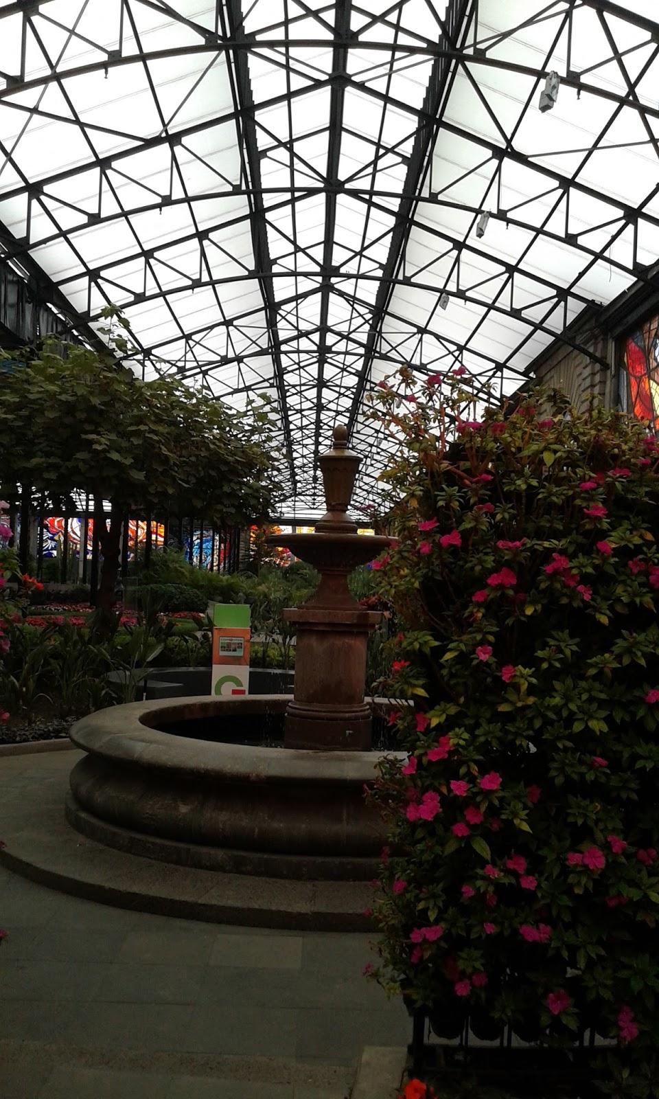 Cosmovitral. Jardín Botánico