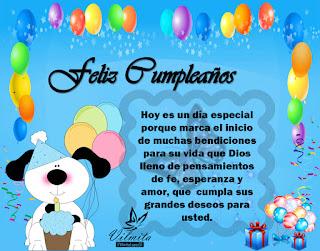 Feliz Cumpleaños Deseos Cristianos 2