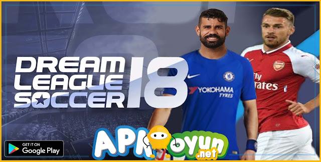 Dream League Soccer 2018 APK v5.04 MOD APK - Para Hileli