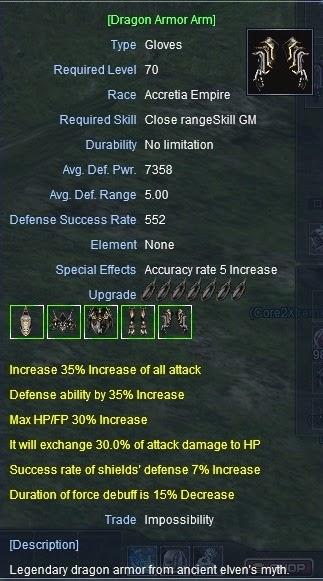 Rf online dragon armor guide