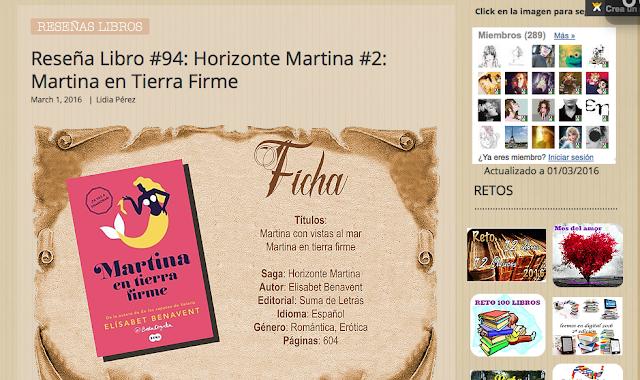 http://yerathel41.wix.com/agarratevienenlibros#!Rese%C3%B1a-Libro-94-Horizonte-Martina-2-Martina-en-Tierra-Firme/ulspz/56cb526e0cf26bd1d3ea1201