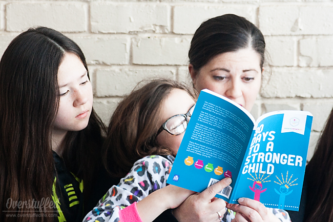 30 Days to a Stronger Child: An excellent book designed to help you have conversations with your children to strengthen them in all areas of their lives. #overstuffedlife