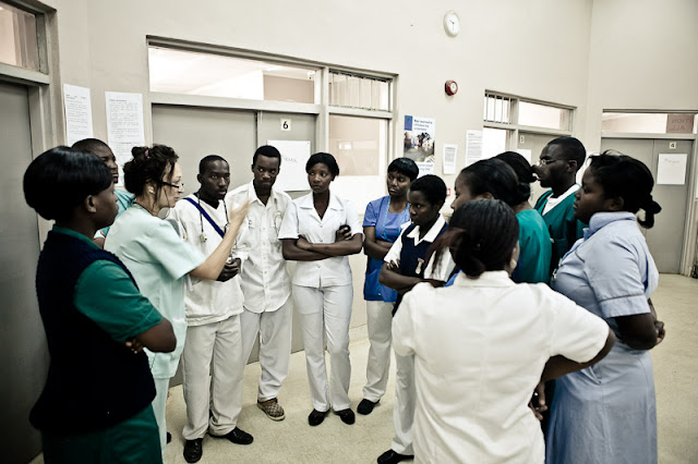From 8 to 17: Day shift at Bwaila Maternity Hospital - A