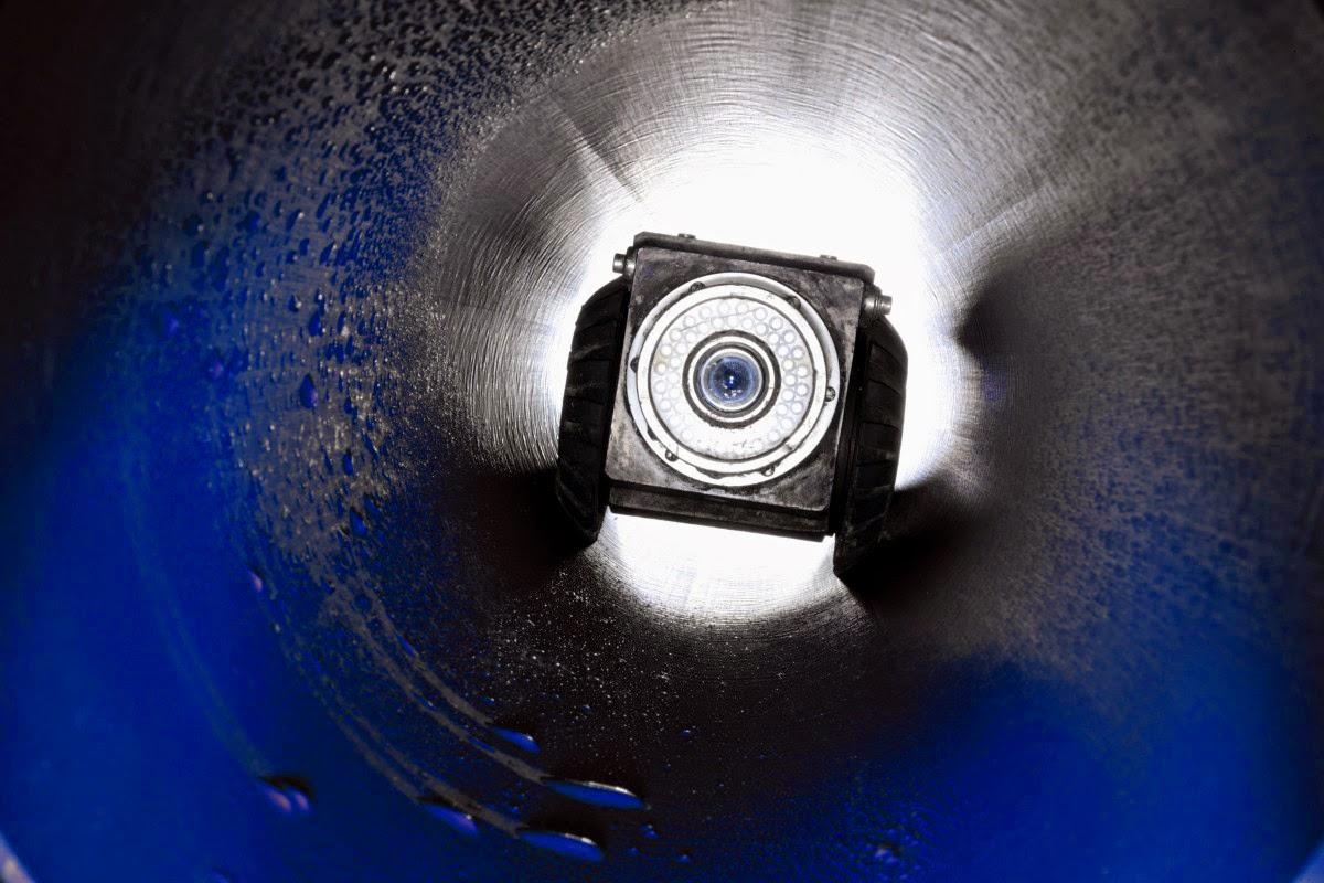 Inspección tuberías con camión cuba