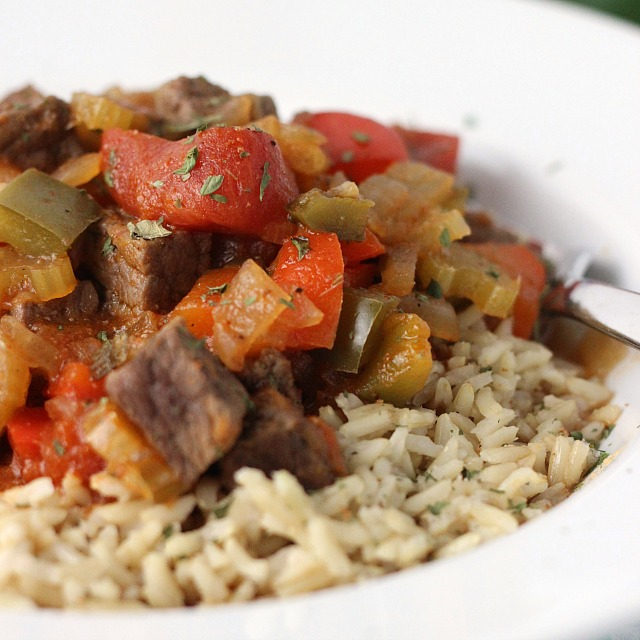 Creole Beef and Rice Bowls