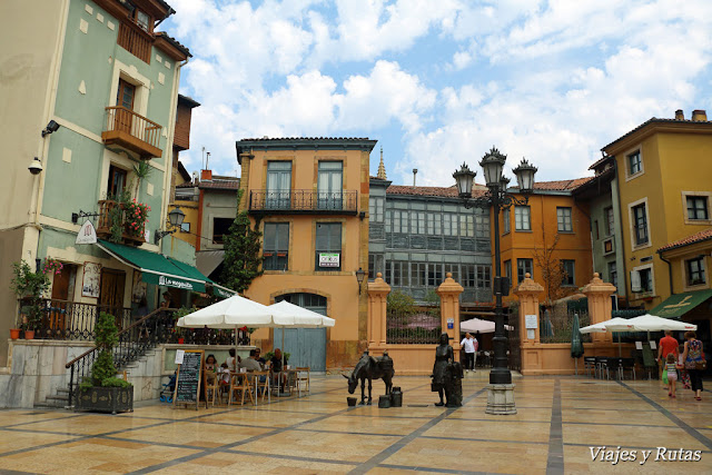 Plaza Trascorrales de Oviedo