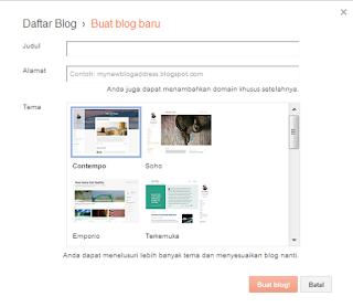 Cara Sederhana Langkah Mudah Membangun Sebuah Blogspot Standar