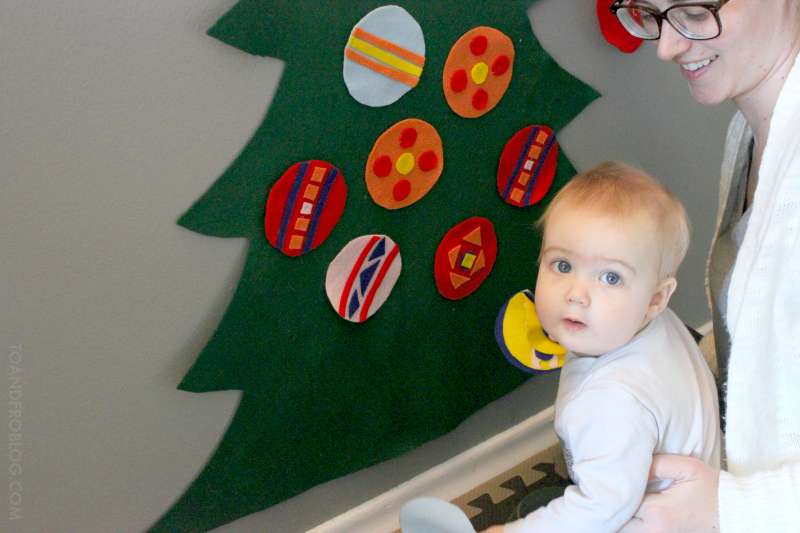 Toddler-Friendly Felt Christmas Tree Tutorial