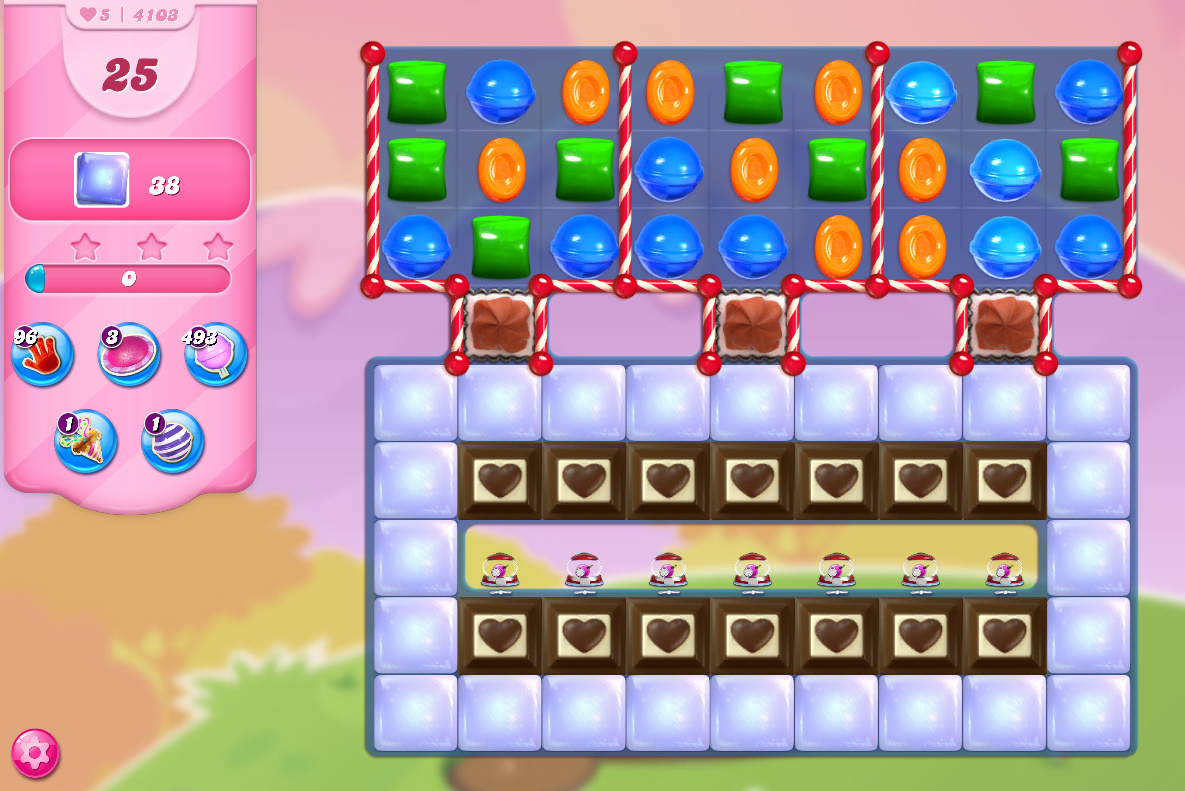 Candy Crush Saga level 4103