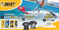 Logo Gioca e vinci 150 T-shirt Bic Sport