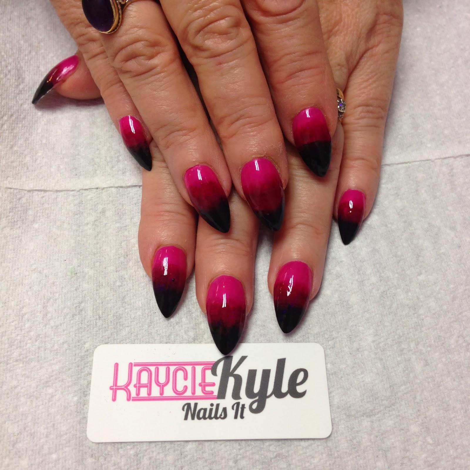 Octobers Best Nails | Kaycie Kyle