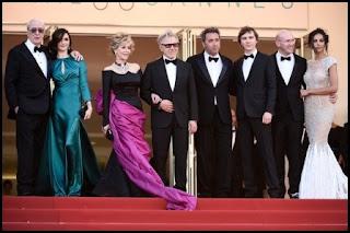 El equipo de La juventud (Paolo Sorrentino, 2015) en el Festival de Cannes