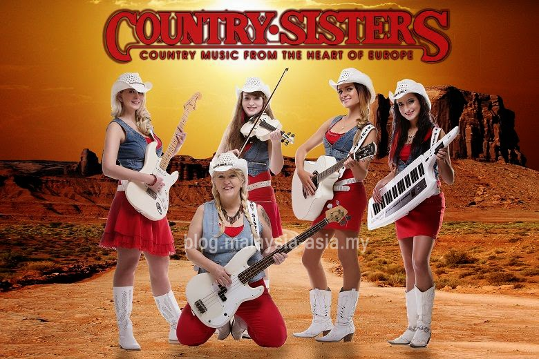 Country Sisters Band from Czech Republic