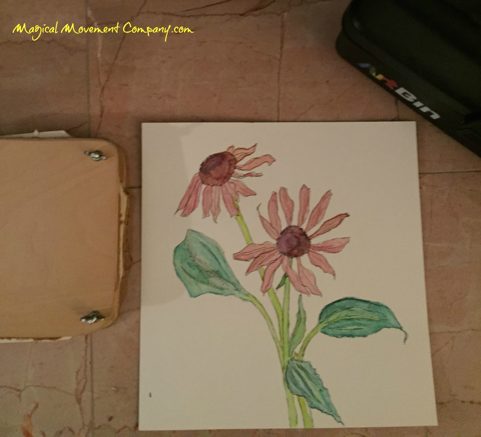 Flower Leaf Pressing With Children Montessori Style Magical