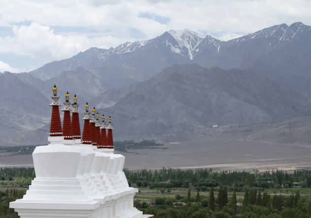 View from the top of Shey Palace, Ladakh