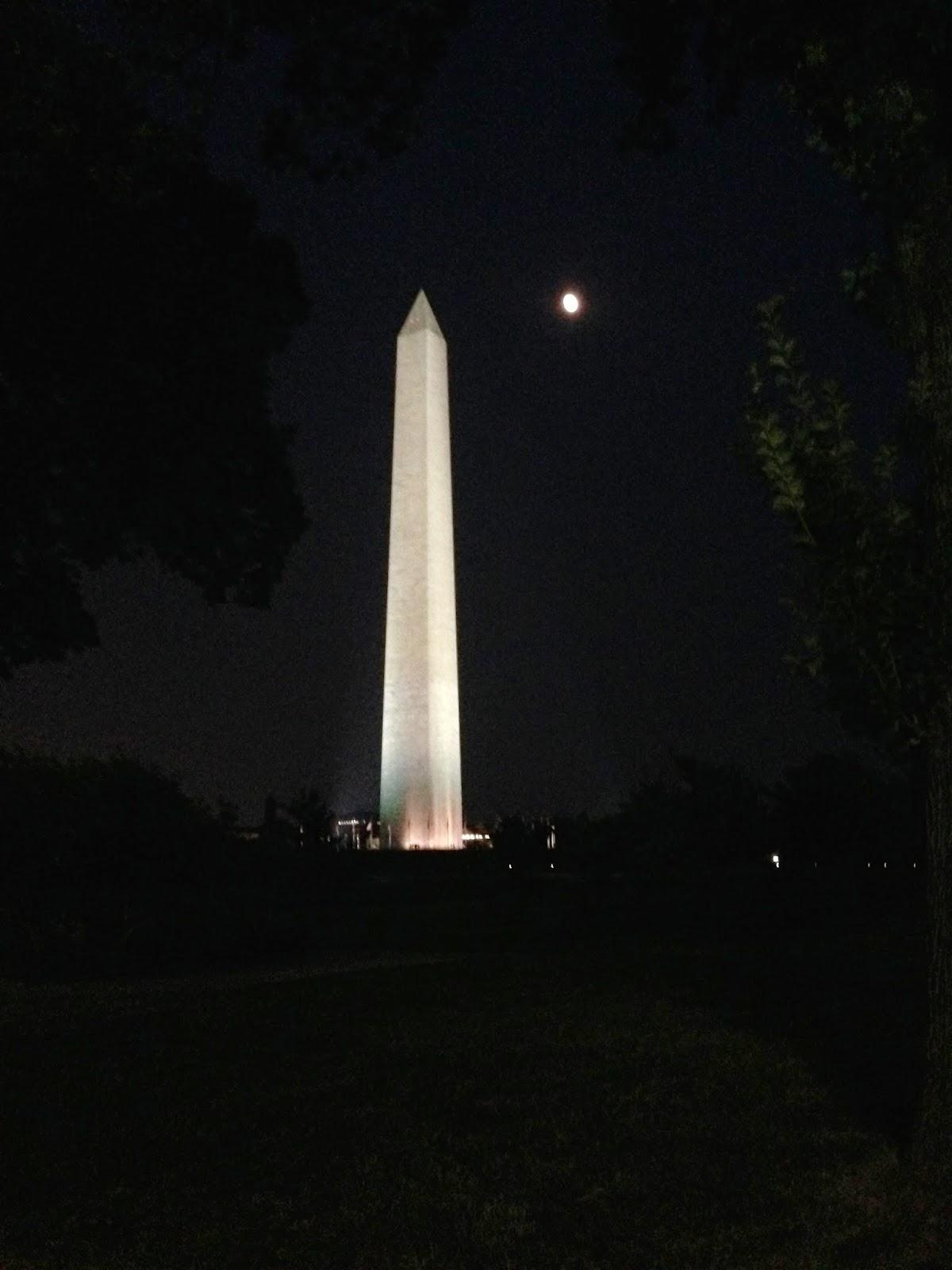 Washington Monument Coloring Page